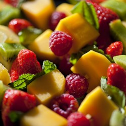 Les brochettes de fruits